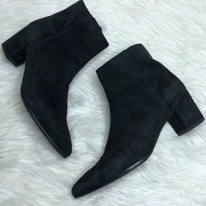 Stuart Weitzman Black Suede Boots item#66